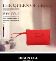 Leather hand bag purse 2015 new mobile phone bag manufacturers selling retro fashion women wallet leather