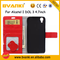 Hot Sale China Mobile Phone Spare Parts Of Mobile Phone Leather Bag For Alcatel One Touch Idol 3 5.5,Waterproof Phone Case