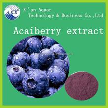 100% hot selling frozen acai puree / acai berry juice/acai powder