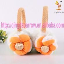 2015 Fashion knitted/Faux Fur Earmuffs
