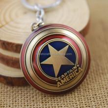 Marvel Comics Captain America Shield The Avengers Movie Pewter Keychain