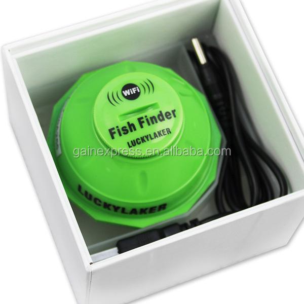 Wireless 50m wifi fishfinder sonar 130 feet 45 meters for Iphone fish finder