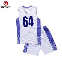 New Design Fashion 100% Polyester Basketball Women Uniform