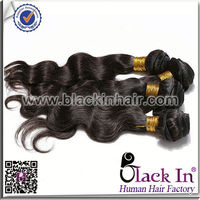 For Braiding 24 Inch Long Body Wave Style Natural Black Mongolian loof professional hair extension iron