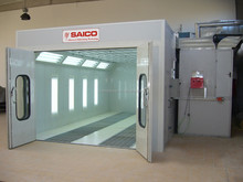 Factory price paint booth with water curtain