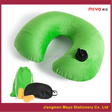 Eco friendly promotional Inflatable Travel Pillow,Promotion gift set,Promotional U shape inflatable travel pillow