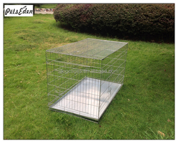 Wholesale High Quality Galvanized Dog Crate Dog Cage