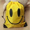 2015 new promotional nylon polyester drawstring bag