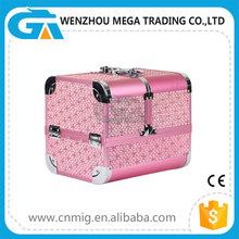 Portable Waterproof Aluminum Makeup Artist Cosmetic Case