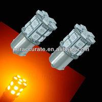 7506 1156 BA15S Bau15s 20SMD 5050 LED Mini cooper Voiture Turn Ampoule Ambre 12V
