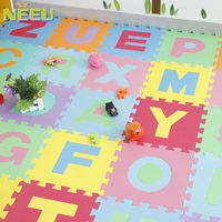 EVA alphabet learning toys mat