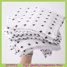 Excellent good touch baby muslin blanket, cotton muslin swaddle blanket