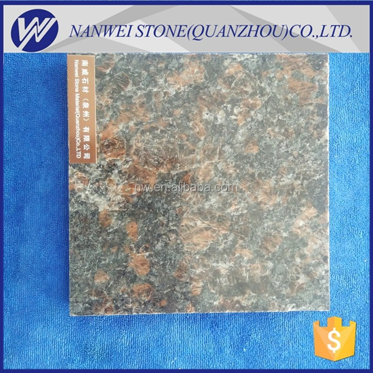O granito de tan brown granito cor marrom escuro