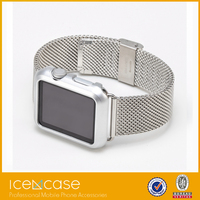 Wholesale high quality colorful clear plastic protective cover case for Apple watch