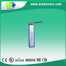 Discount price DTP601665 lithium 2.1 wh rechargeable 560mah tablet pc battery