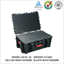 hard Plastic Waterproof Equipment Case for Cameras Guns Electronic Equip