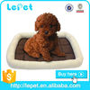 soft plush dog bed with high quality PP cotton inside