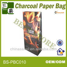 2014 double layers firewood packaging paper bag