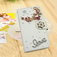3d bling love rhinestone cover case for samsung galaxy ace plus s7500