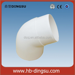 Low Price DS PVC Rain Gutter PVC Pipe Fitting 45 Degree Elbow