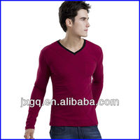 Fashion design long sleeve t shirt high quality long sleeve t shirt for men cheap china wholesale clothing