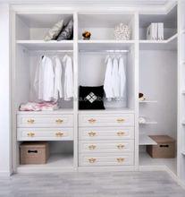 new design custom bedroom closet and wardrobe double door wardrobe design
