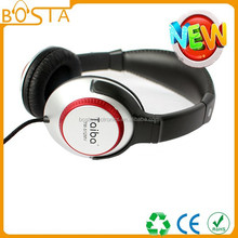 Cheap stereo leather hot sales cheap stereo headphone headset