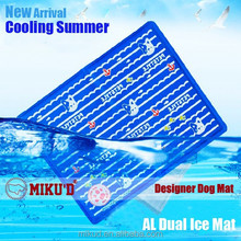 New Summer Dog Ice Cooling Mat, Keep Dogs Cool, Stackable Durable Pet Dog Ice Cooling Pad