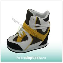 Women hidden heels wedge shoes trainers sneakers fashion wedge sneakers