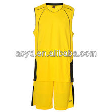 Men's customized number printed basketball suit