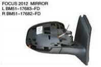 For ford focus 2012 side door mirror/mirror cover/mirror lamp