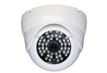 Home use 960p hd 1.3mp network indoor mini dome plastic casing onvif p2p ip cctv camera