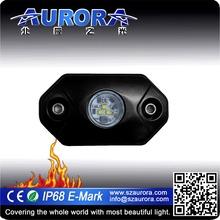 "Wireless control AURORA 2"" rgb rock light motorcycle accessory"