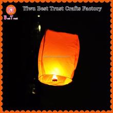 Wholesale 100 biodegradable Paper Chinese Floating Wish Kongming Light Lantern, Flying Sky Lantern
