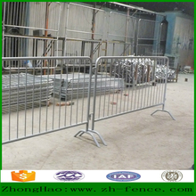 Hot sale high quality PVC coated hot dipped galvanized outdoor mobile temporary fence