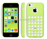 Official Soft Silicone Colored Dots Phone Cover Case For iPhone 5C, Cutout Phone Shell Case From Alibaba China