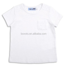 Blank white polo t-shirts new arrival best selling kids t-shirts