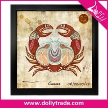 Cancer! abstract zodiac art painting 60*60 canvas