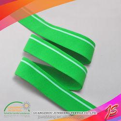 Colorful fire retardant elastic