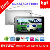Cheapest China Made Dual Core DVB-T2 ISDB-T ATSC 7inch Digital TV Tablet