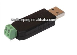 USB to RS485 485 Converter Adapter Support Win7 XP Vista Linux Mac OS with TVS protect connect PLC