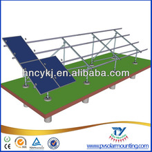 Ground solar bracket for soar power plant/solar power station