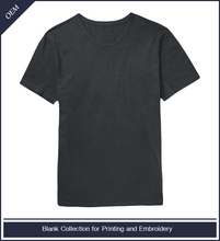 Wholesale bulk plain round neck slim fit blank t-shirt