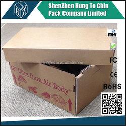 Wax corrugated box