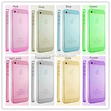 2015 Unique Soft Super Ultra-thin Transparent PC TPU Mobile Phone Case for iPhone 5/6/6Plus