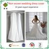 non woven wedding dress cover bag ,garment bags