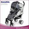 Europe style waterproof plastic rain cover for baby stroller