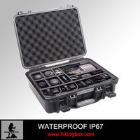 Custom logo Ningbo HIKING-ON OEM EVA foam protect outdoor plastic tool case HTC012-1