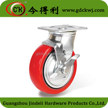furniture hardware chair leg casters heavy duty cast iron wheels