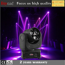 hight quality professional stage light show color strobe effect cheap 3*15w mini moving head light
